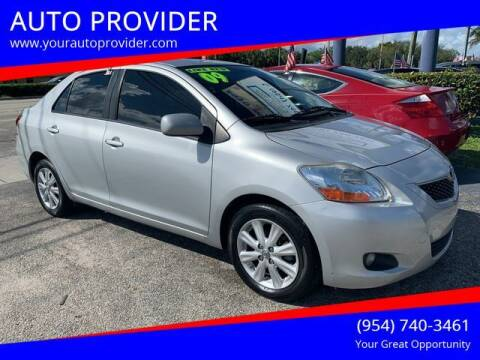 2009 Toyota Yaris for sale at AUTO PROVIDER in Fort Lauderdale FL