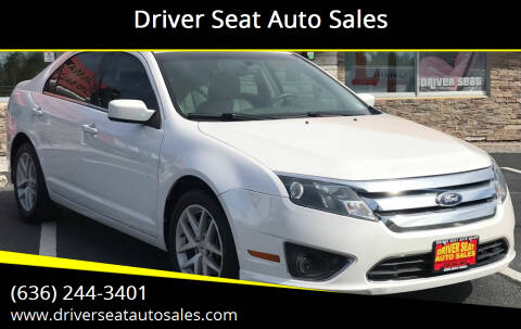 2011 Ford Fusion for sale at Driver Seat Auto Sales in St. Charles MO