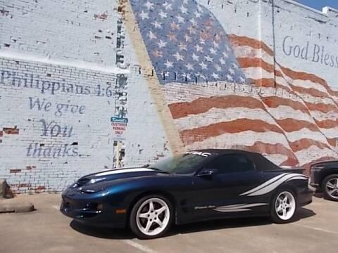 1998 Pontiac Firebird for sale at LARRY'S CLASSICS in Skiatook OK