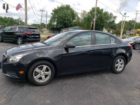 2012 Chevrolet Cruze for sale at COLONIAL AUTO SALES in North Lima OH
