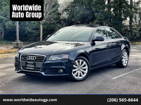 2009 Audi A4 for sale at Worldwide Auto Group in Auburn WA