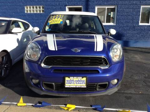 2013 MINI Paceman for sale at Worldwide Auto Sales in Fall River MA