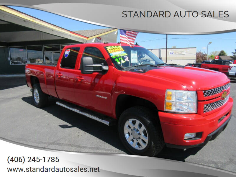2012 Chevrolet Silverado 2500HD for sale at Standard Auto Sales in Billings MT