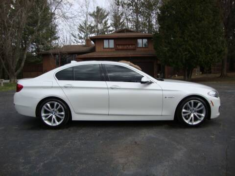 2016 BMW 5 Series for sale at G and G AUTO SALES in Merrill WI