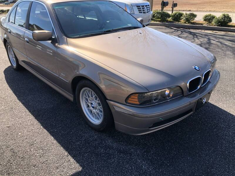 2002 BMW 5 Series for sale at Muscle Cars USA 1 in Murrells Inlet SC
