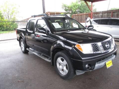 2005 Nissan Frontier for sale at Metroplex Motors Inc. in Houston TX