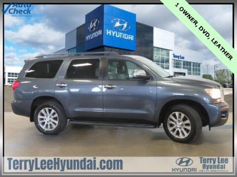 2010 Toyota Sequoia for sale at Terry Lee Hyundai in Noblesville IN
