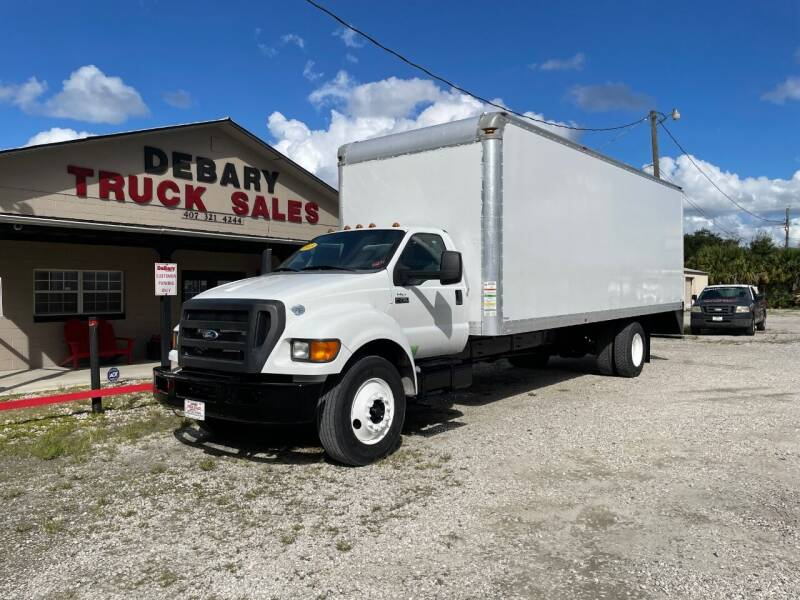 2015 Ford F-750 Super Duty for sale at DEBARY TRUCK SALES in Sanford FL