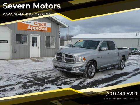2011 RAM Ram Pickup 1500 for sale at Severn Motors in Cadillac MI