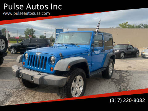2011 Jeep Wrangler for sale at Pulse Autos Inc in Indianapolis IN