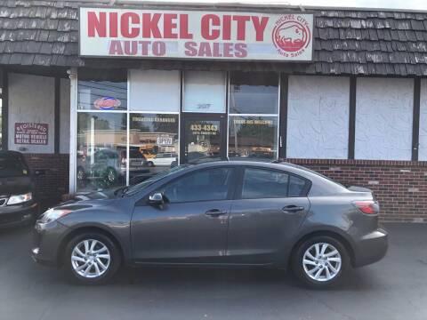 2012 Mazda MAZDA3 for sale at NICKEL CITY AUTO SALES in Lockport NY