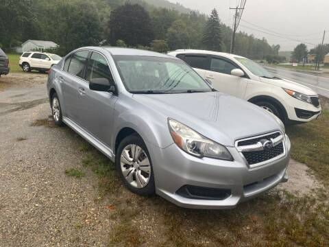 2013 Subaru Legacy for sale at Wright's Auto Sales LLC in Townshend VT