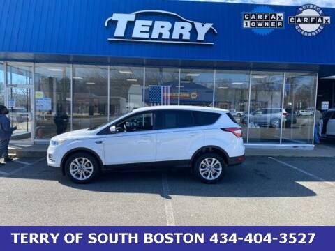 2017 Ford Escape for sale at Terry of South Boston in South Boston VA