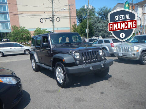 2014 Jeep Wrangler Unlimited for sale at 103 Auto Sales in Bloomfield NJ