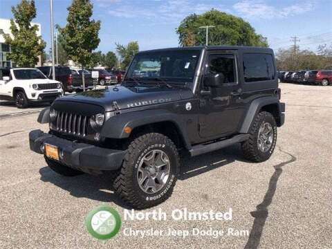 2018 Jeep Wrangler JK for sale at North Olmsted Chrysler Jeep Dodge Ram in North Olmsted OH