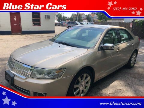 2008 Lincoln MKZ for sale at Blue Star Cars in Jamesburg NJ