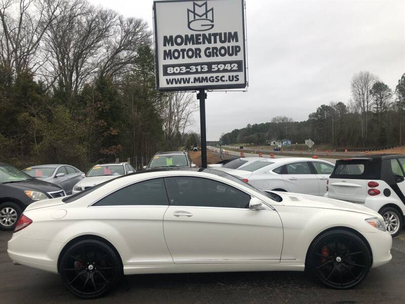 2009 Mercedes-Benz CL-Class for sale at Momentum Motor Group in Lancaster SC