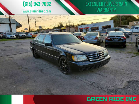 1999 Mercedes-Benz S-Class for sale at Green Ride Inc in Nashville TN