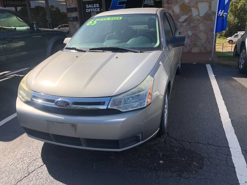 2008 Ford Focus for sale at E Motors LLC in Anderson SC