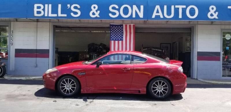 2007 Hyundai Tiburon for sale at Bill's & Son Auto/Truck Inc in Ravenna OH
