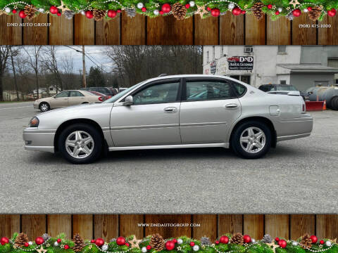 2005 Chevrolet Impala for sale at DND AUTO GROUP in Belvidere NJ