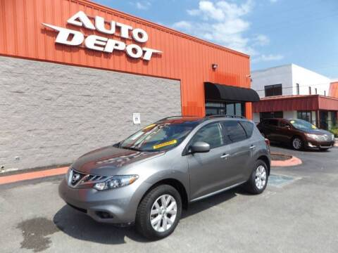 2012 Nissan Murano for sale at Auto Depot of Madison in Madison TN