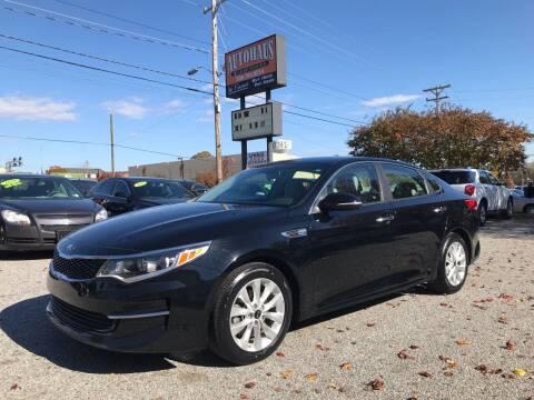 2016 Kia Optima for sale at Autohaus of Greensboro in Greensboro NC