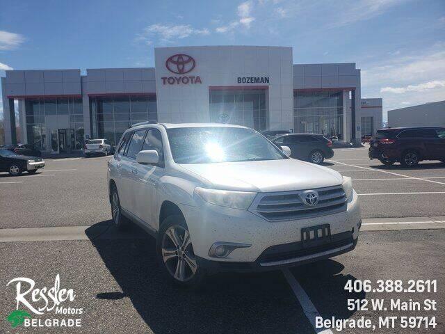 2013 Toyota Highlander for sale at Danhof Motors in Manhattan MT