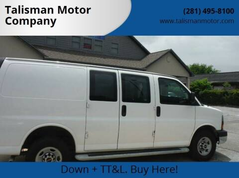 2015 GMC Savana Cargo for sale at Don Jacobson Automobiles in Houston TX
