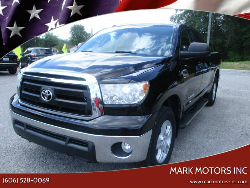 2013 Toyota Tundra for sale at Mark Motors Inc in Gray KY
