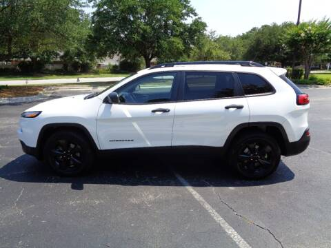 2017 Jeep Cherokee for sale at BALKCUM AUTO INC in Wilmington NC
