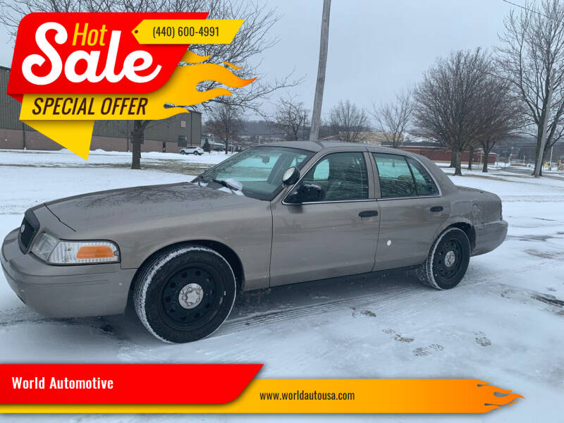 2009 Ford Crown Victoria for sale at World Automotive in Euclid OH