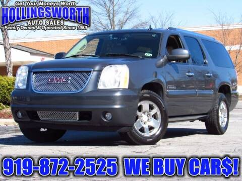 2008 GMC Yukon XL for sale at Hollingsworth Auto Sales in Raleigh NC