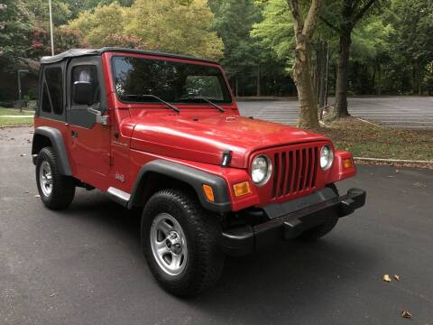 1999 Jeep Wrangler for sale at Bowie Motor Co in Bowie MD