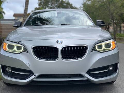 2015 BMW 2 Series for sale at HIGH PERFORMANCE MOTORS in Hollywood FL