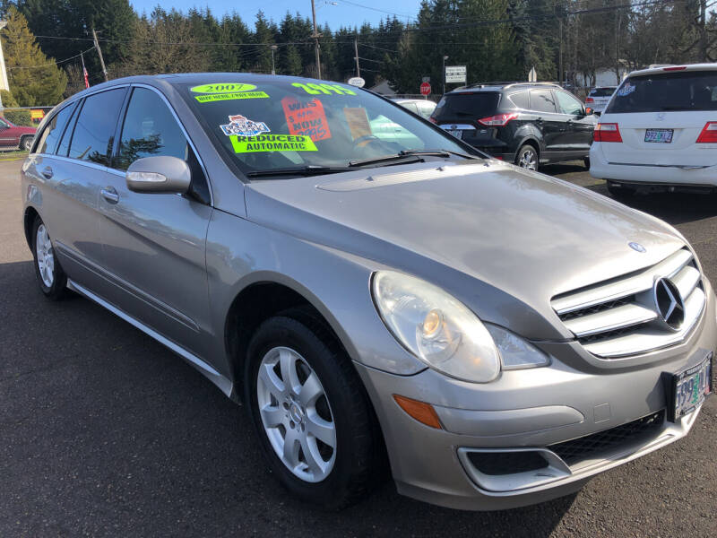 2007 Mercedes-Benz R-Class for sale at Freeborn Motors in Lafayette, OR