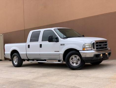 2002 Ford F-250 Super Duty for sale at Texas Prime Motors in Houston TX