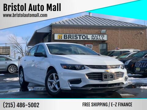 2017 Chevrolet Malibu for sale at Bristol Auto Mall in Levittown PA