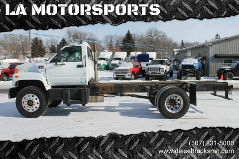1999 GMC C7500 for sale at LA MOTORSPORTS in Windom MN