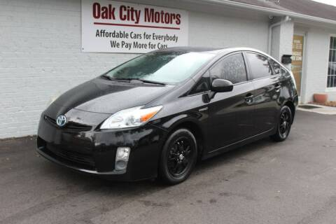 2011 Toyota Prius for sale at Oak City Motors in Garner NC