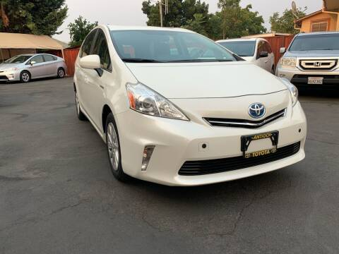 2013 Toyota Prius v for sale at Ronnie Motors LLC in San Jose CA