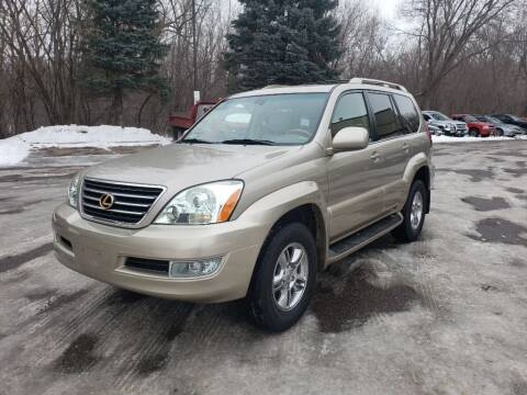 2003 Lexus GX 470 for sale at Fleet Automotive LLC in Maplewood MN