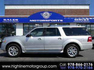 2017 Ford Expedition EL for sale at Highline Group Motorsports in Lowell MA