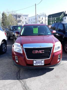 2012 GMC Terrain for sale at MERROW WHOLESALE AUTO in Manchester NH