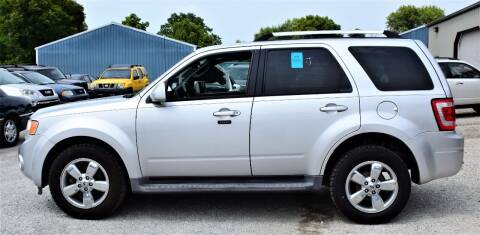 2012 Ford Escape for sale at PINNACLE ROAD AUTOMOTIVE LLC in Moraine OH