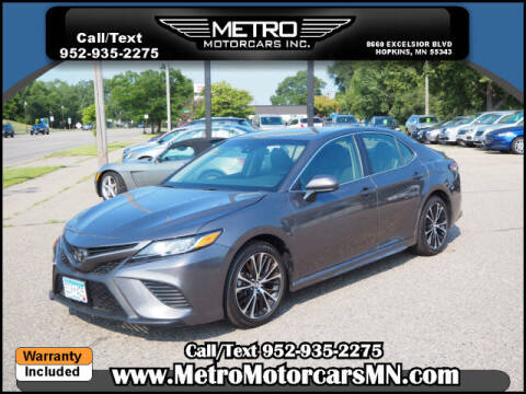 2019 Toyota Camry for sale at Metro Motorcars Inc in Hopkins MN