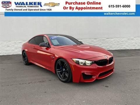 2016 BMW M4 for sale at WALKER CHEVROLET in Franklin TN