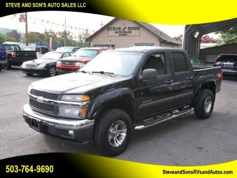 2005 Chevrolet Colorado for sale at Steve & Sons Auto Sales in Happy Valley OR