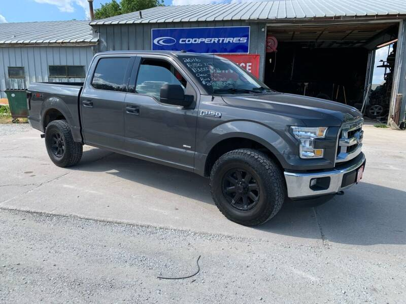 2016 Ford F-150 for sale at GREENFIELD AUTO SALES in Greenfield IA