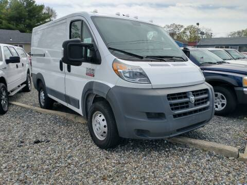 2017 RAM ProMaster Cargo for sale at CANDOR INC in Toms River NJ